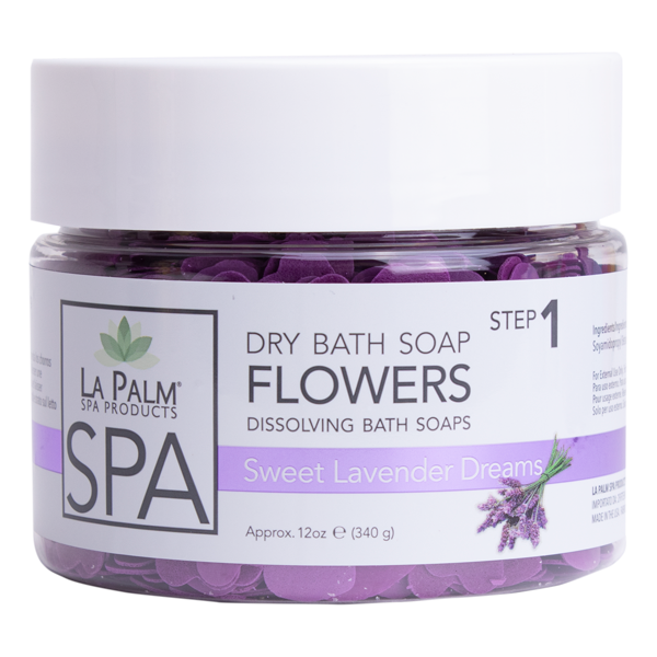 Dry Bath Soap Flowers